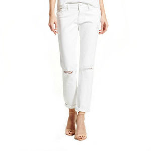 DL1961 9610 Womens Azalea White Relaxed Fit White